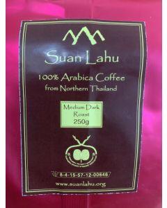 Coffee Beans Organic Arabica Dark Roast 250gram