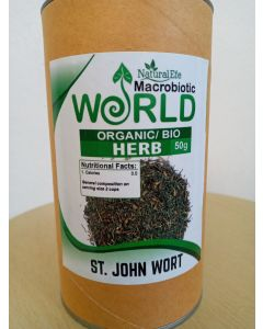 St Johns Wort Tea Organic 50gram