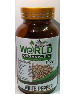 White Pepper Organic Powder 100gram