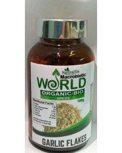 Garlic Flakes Organic 100gram