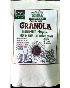 Granola Organic / Bio Gluten Free - Chocolate 300gram
