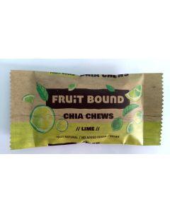 Fruit Bound Chia Chew Bars Lime 40 gram