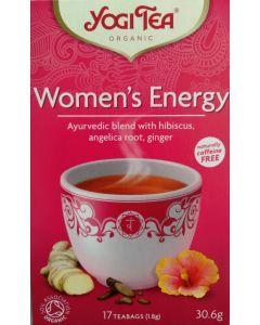 Women's Energy Tea Yogi Organic 17 Bags