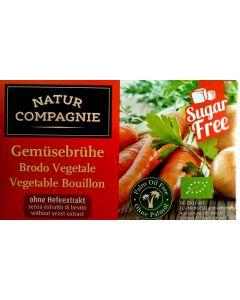 Vegetable Broth Cubes Organic- Sugar Free -Yeast Free