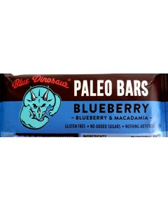 Blue Dinosaur Blueberry Paleo Bar 45gram