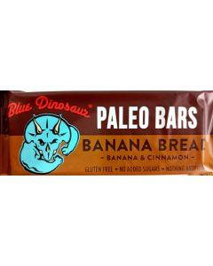 Blue Dinosaur Banana Bread Paleo Bar 45gram