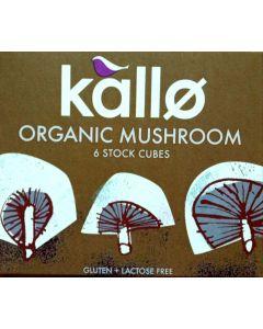 Stock Cubes Mushroom Organic 66gram