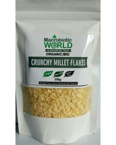 Crunchy Millet Flakes Organic 250 g