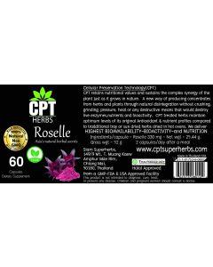 Roselle Organic 60 Capsules