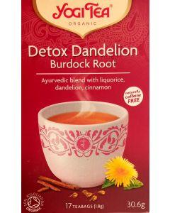 Detox  Dandelion Burdock Root Tea Yogi
