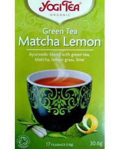 Green Tea Matcha Lemon Yogi