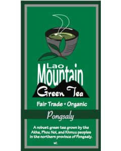 Green Tea Organic Leaf Laos 100 gram