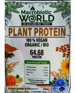 โปรตีนพืช plant protein  500 กรัม
