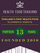 Health Food Thailand Founded 2010